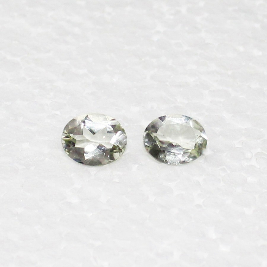Beautiful NATURAL GREEN AMETHYST Gemstone, AAA Quality Faceted Gemstone, Size 10x8 mm Oval & 2.40 ct Weight Per Piece, Green Gemstone, Loose Gemstones