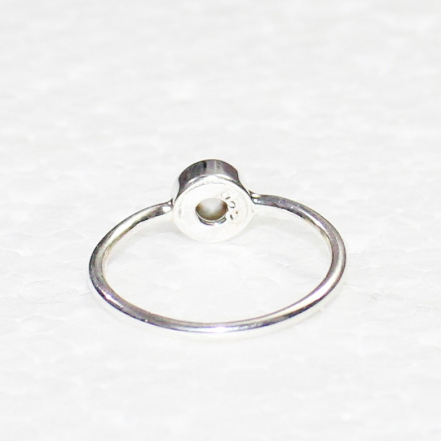Beautiful NATURAL PEARL Gemstone Ring, Birthstone Ring, 925 Sterling Silver Ring, Fashion Handmade Ring, All Ring Size, Gift Ring