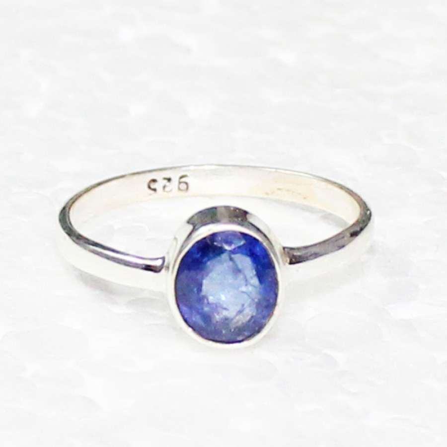 Gorgeous NATURAL TANZANITE Gemstone Ring, Birthstone Ring, 925 Sterling Silver Ring, Fashion Handmade Ring, All Ring Size, Gift Ring