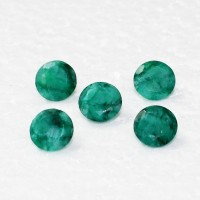 Beautiful NATURAL INDIAN EMERALD Gemstone, AAA Quality Faceted Gemstone, Size 9x9 mm Oval & 2.95 ct Weight Per Piece, Green Gemstone, Loose Gemstones