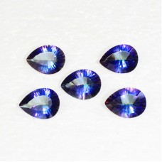 Gorgeous MIDNIGHT MYSTIC TOPAZ Gemstone, AAA Quality Faceted Gemstone, Size 16x12 mm Pear & 7.30 ct Weight Per Piece, Multicolor Gemstone, Loose Gemstones