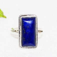 Amazing NATURAL LAPIS LAZULI Gemstone Ring, Birthstone Ring, 925 Sterling Silver Ring, Fashion Handmade Ring, All Ring Size, Gift Ring