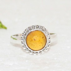Awesome BALTIC AMBER Gemstone Ring, Birthstone Ring, 925 Sterling Silver Ring, Fashion Handmade Ring, All Ring Size, Gift Ring