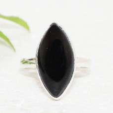 Amazing BLACK ONYX Gemstone Ring, Birthstone Ring, 925 Sterling Silver Ring, Fashion Handmade Ring, All Ring Size, Gift Ring