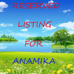 Reserved Listing For ANAMIKA / 925 Sterling Silver Amulet