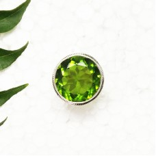 Amazing GREEN PERIDOT Gemstone Ring, Birthstone Ring, 925 Sterling Silver Ring, Fashion Handmade Ring, All Ring Size, Gift Ring, Artisan Jewelry