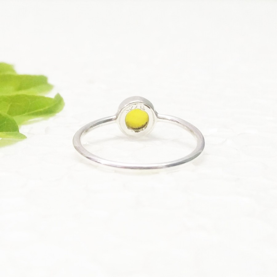 Gorgeous YELLOW ONYX Gemstone Ring, Birthstone Ring, 925 Sterling Silver Ring, Fashion Handmade Ring, All Ring Size, Gift Ring