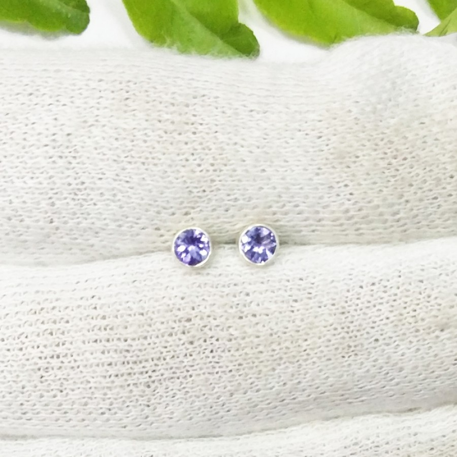 birthstone september earrings jewelry sapphire diamond