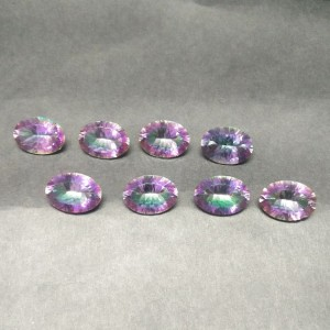 Gorgeous MIDNIGHT MYSTIC TOPAZ Gemstone, AAA Quality Faceted Gemstone, Size 18x13 mm Oval & 13.30 ct Weight Per Piece, Multicolor Gemstone, Loose Gemstones