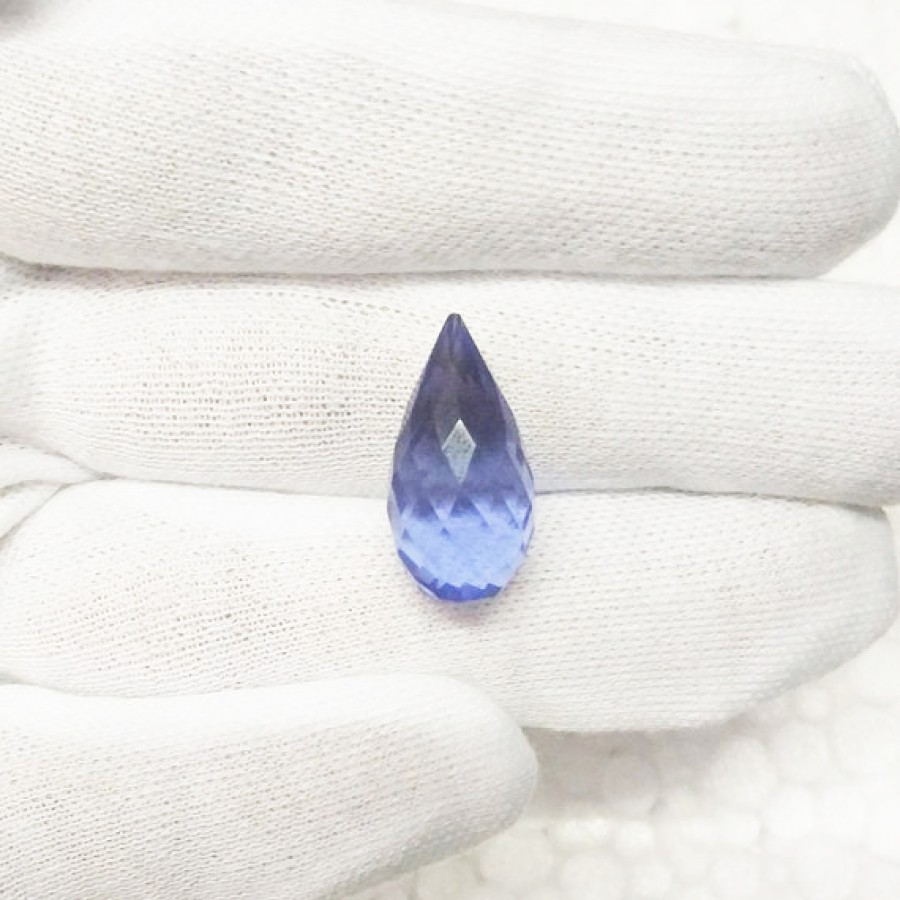 Attractive BLUE IOLITE Gemstone, AAA Quality Faceted Gemstone, Size 22x11 mm Drop & 14.60 ct Weight Per Piece, Blue Gemstone, Loose Gemstones