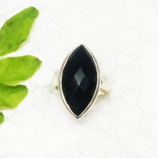 Awesome BLACK ONYX Gemstone Ring, Birthstone Ring, 925 Sterling Silver Ring, Fashion Handmade Ring, All Ring Size, Gift Ring