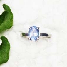 Awesome NATURAL TANZANITE Gemstone Ring, Birthstone Ring, 925 Sterling Silver Ring, Fashion Handmade Ring, All Ring Size, Gift Ring