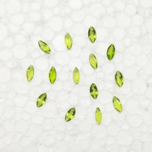 Attractive GREEN PERIDOT Gemstone, AAA Quality Faceted Gemstone, Size 8x4 mm Marquise & 0.50 ct Weight Per Piece, Green Gemstone, Loose Gemstones