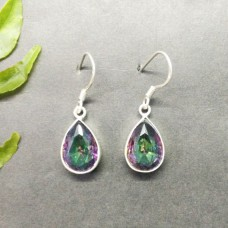 Awesome MIDNIGHT MYSTIC TOPAZ Gemstone Earrings, Birthstone Earrings, 925 Sterling Silver Earrings, Fashion Handmade Earrings, Dangle Earrings, Gift Earrings