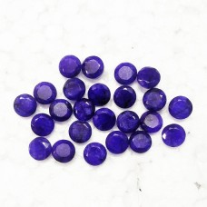 Amazing NATURAL INDIAN BLUE SAPPHIRE Gemstone, AAA Quality Faceted Gemstone, Size 9 mm Round & 2.75 ct Weight Per Piece, Blue Gemstone, Loose Gemstones