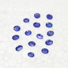 Exclusive NATURAL TANZANITE Gemstone, AAA Quality Faceted Gemstone, Size 7x5 mm Oval & 0.90 ct Weight Per Piece, Blue Gemstone, Loose Gemstones