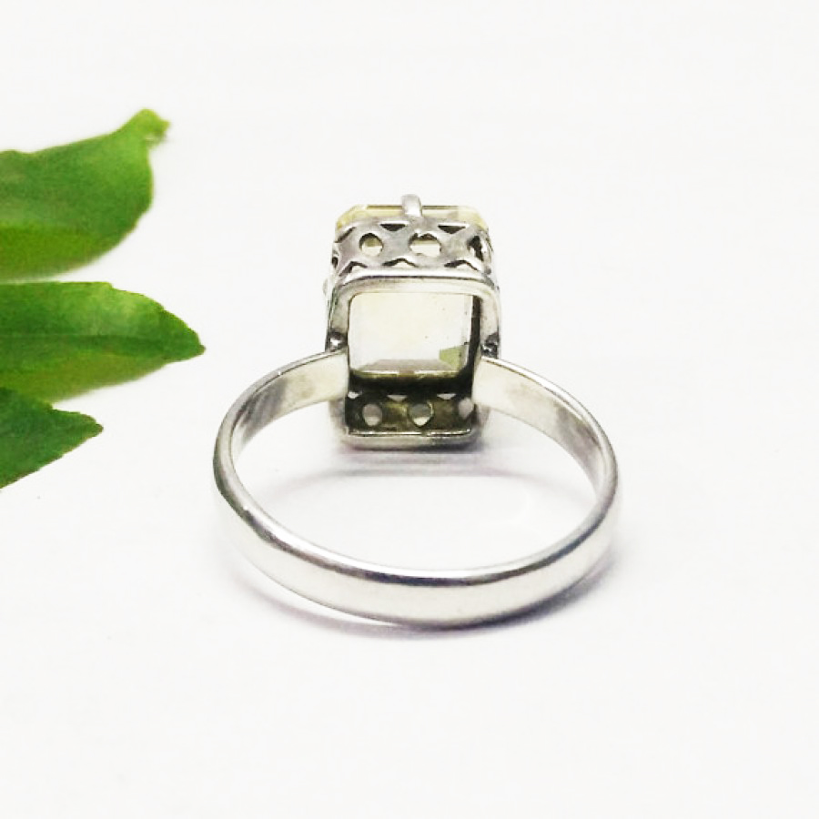 Awesome YELLOW CITRINE Gemstone Ring, Birthstone Ring, 925 Sterling Silver Ring, Fashion Handmade Ring, All Ring Size, Gift Ring