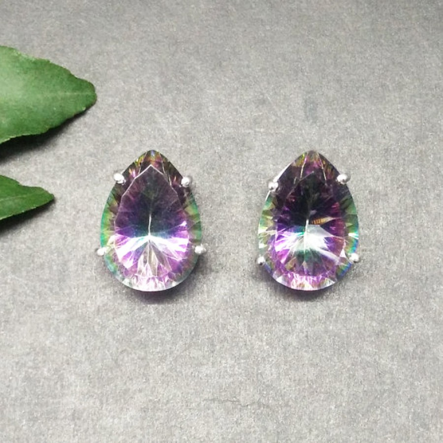 earrings first topaz products stone favourite fashion romantic promotion silver gemstone recommend class sellers best product plated mystic store