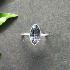 Amazing MIDINIGHT MYSTIC TOPAZ Gemstone Ring, Birthstone Ring, 925 Sterling Silver Ring, Fashion Handmade Ring, All Ring Size, Gift Ring