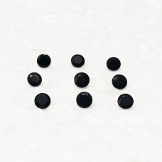 Awesome BLACK ONYX Gemstone, AAA Quality Faceted Gemstone, Size 4x4 mm Round & 0.22 ct Weight Per Piece, Black Gemstone, Loose Gemstones