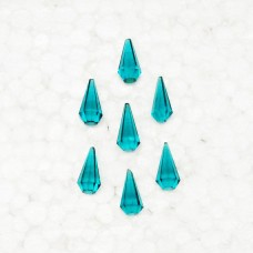 Exclusive SEA GREEN QUARTZ Gemstone, AAA Quality Faceted Gemstone, Size 15x7 mm Drop & 3.40 ct Weight Per Piece, Green Gemstone, Loose Gemstones