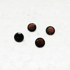 Awesome NATURAL RED GARNET Gemstone, AAA Quality Faceted Gemstone, Size 7x7 mm Round & 1.65 ct Weight Per Piece, Red Gemstone, Loose Gemstones