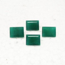 Awesome NATURAL INDIAN EMERALD Gemstone, AAA Quality Faceted Gemstone, Size 20x15 mm Rectangle & 20.0 ct Weight Per Piece, Green Gemstone, Loose Gemstones