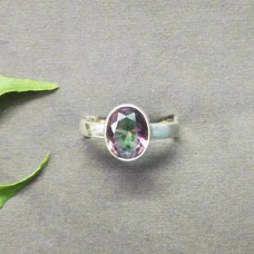 Beautiful MIDNIGHT MYSTIC TOPAZ Gemstone Ring, Birthstone Ring, 925 Sterling Silver Ring, Fashion Handmade Ring, All Ring Size, Gift Ring