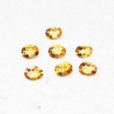Beautiful NATURAL CITRINE Gemstone, AAA Quality Faceted Gemstone, Size 10x8 mm Oval & 2.50 ct Weight Per Piece, Yellow Gemstone, Loose Gemstones