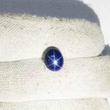 Beautiful NATURAL STAR SAPPHIRE Gemstone, AAA Quality Cabochon Gemstone, Size 11x9 mm Oval & 6.15 ct Weight Per Piece, Blue Gemstone, Loose Gemstones