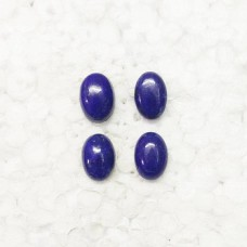 Amazing NATURAL LAPIS LAZULI Gemstone, AAA Quality Cabochon Gemstone, Size 14x10 mm Oval & 7.80 ct Weight Per Piece, Blue Gemstone, Loose Gemstones