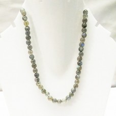 Beautiful NATURAL LABRADORITE Gemstone Necklace, Birthstone Necklace, Fashion Handmade Necklace, Beads Necklace, All Size, Gift Necklace, Adjustable Size