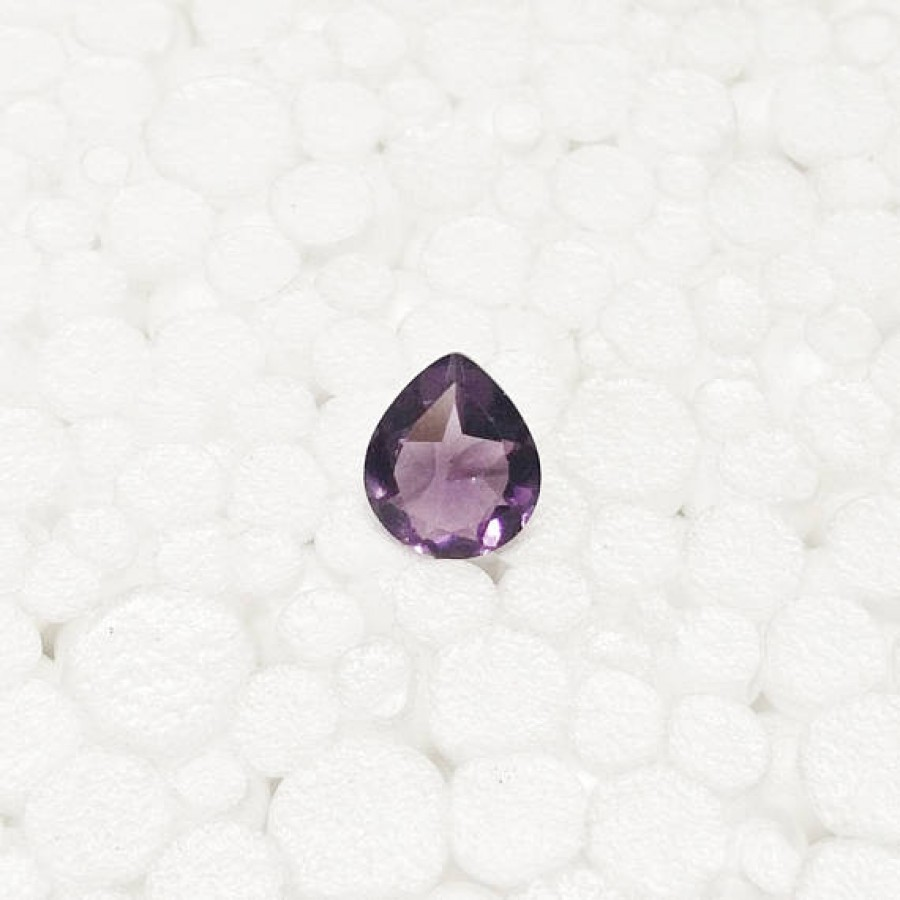 Amazing AFRICAN PURPLE AMETHYST Gemstone, AAA Quality Faceted Gemstone, Size 12x10 mm Pear & 3.40 ct Weight Per Piece, Purple Gemstone, Loose Gemstones