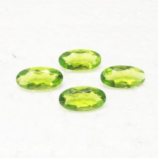 Attractive GREEN PERIDOT Gemstone, AAA Quality Faceted Gemstone, Size 20x10 mm Oval & 8.40 ct Weight Per Piece, Green Gemstone, Loose Gemstones