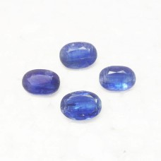 Amazing NATURAL BLUE KYANITE Gemstone, AAA Quality Faceted Gemstone, Size 14x10 mm Oval & 7.00 ct Weight Per Piece, Blue Gemstone, Loose Gemstones
