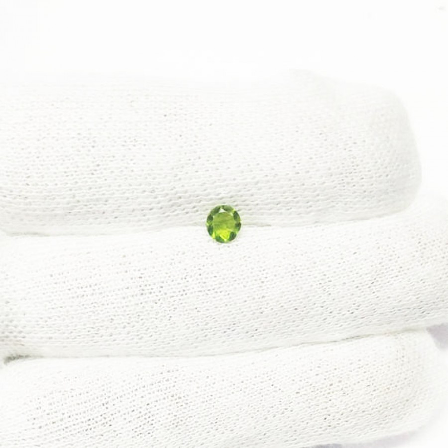 Gorgeous GREEN PERIDOT Gemstone, AAA Quality Faceted Gemstone, Size 5x5 mm Round & 0.60 ct Weight Per Piece, Green Gemstone, Loose Gemstones