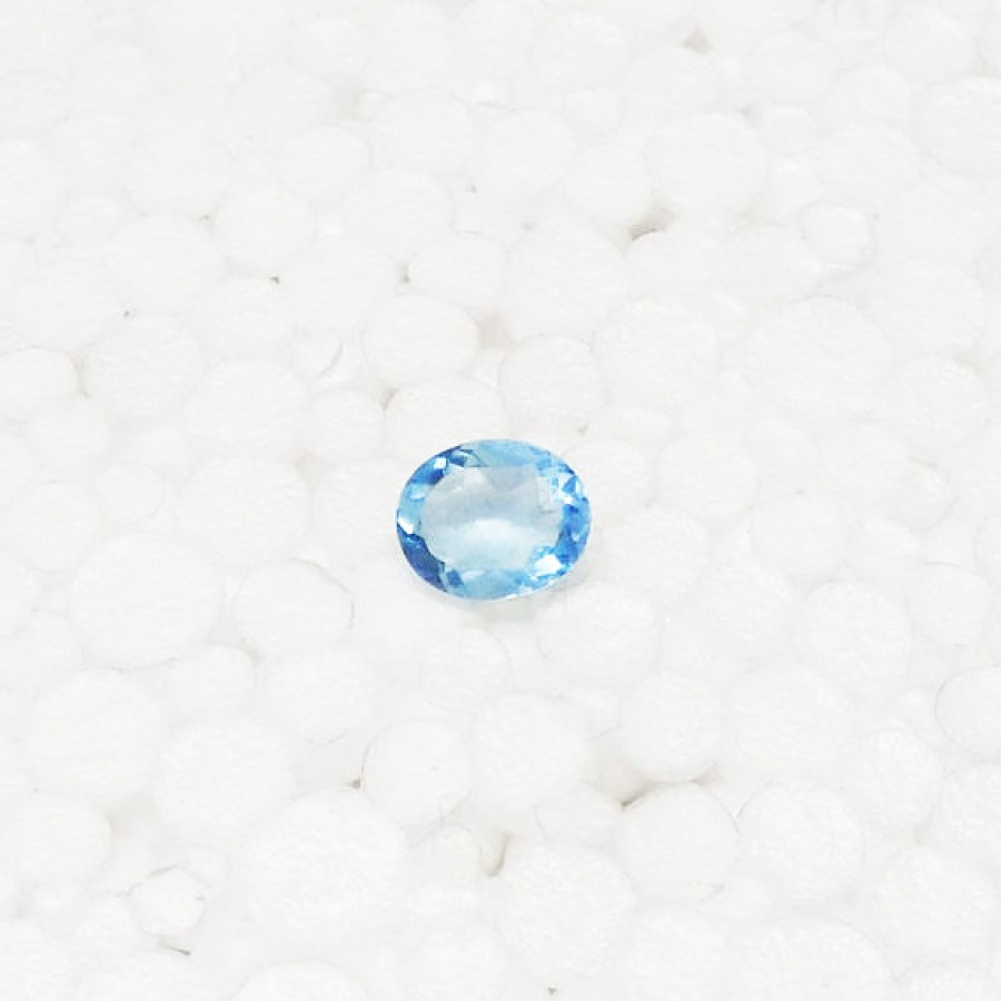 Gorgeous SKY BLUE TOPAZ Gemstone, AAA Quality Faceted Gemstone, Size 11x9 mm Oval & 3.00 ct Weight Per Piece, Blue Gemstone, Loose Gemstones