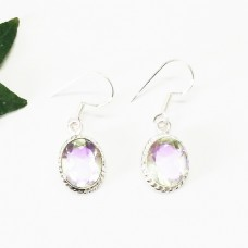 Attractive RAINBOW MYSTIC Gemstone Earrings, Birthstone Earrings, 925 Sterling Silver Earrings, Fashion Handmade Earrings, Dangle Earrings, Gift Earrings