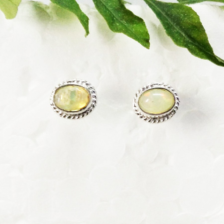 jewelry silver november birthstone earrings citrine