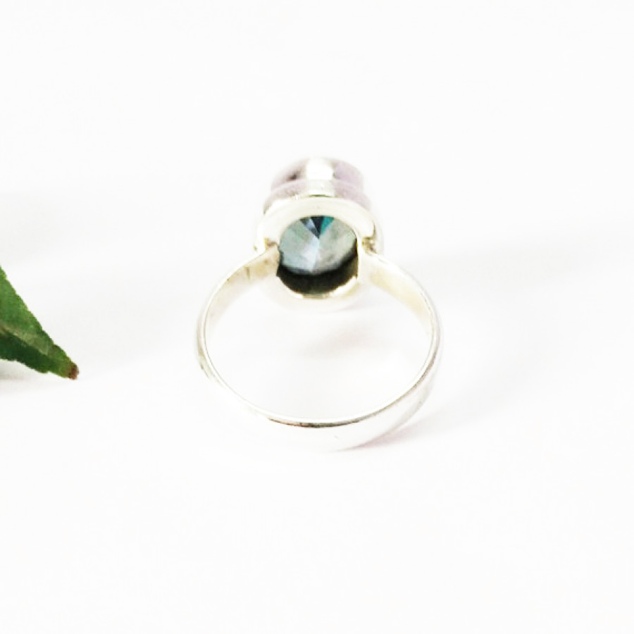 Gorgeous MIDNIGHT MYSTIC TOPAZ Gemstone Ring, Birthstone Ring, 925 Sterling Silver Ring, Fashion Handmade Ring, All Ring Size, Gift Ring