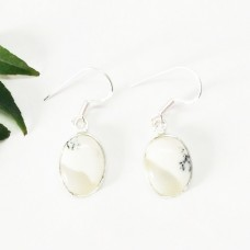 Awesome NATURAL DENDRITIC OPAL Gemstone Earrings, Birthstone Earrings, 925 Sterling Silver Earrings, Fashion Handmade Earrings, Dangle Earrings, Gift Earrings