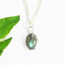 Beautiful NATURAL FIRE LABRADORITE Gemstone Pendant, Birthstone Pendant, 925 Sterling Silver Pendant, Fashion Handmade Pendant, Free Chain, Gift Pendant