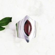 Attractive NATURAL RED GARNET Gemstone Ring, Birthstone Ring, 925 Sterling Silver Ring, Fashion Handmade Ring, All Ring Size, Gift Ring