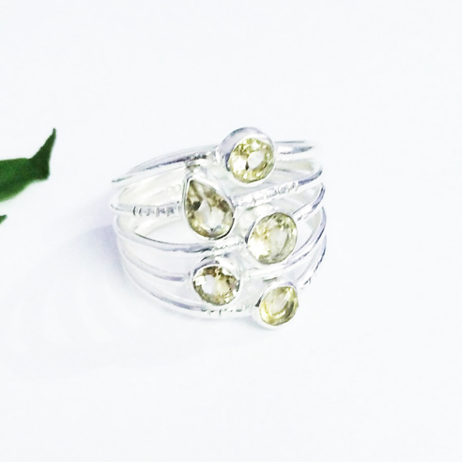 Beautiful NATURAL CITRINE Gemstone Ring, Birthstone Ring, 925 Sterling Silver Ring, Fashion Handmade Ring, All Ring Size, Gift Ring