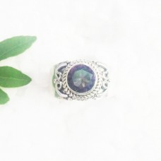 Gorgeous MIDINIGHT MYSTIC TOPAZ Gemstone Ring, Birthstone Ring, 925 Sterling Silver Ring, Fashion Handmade Ring, All Ring Size, Gift Ring