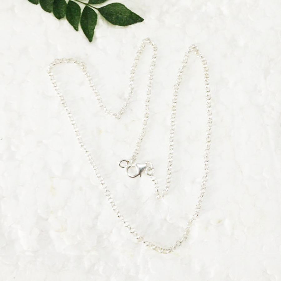 Gorgeous 925 STERLING SILVER CHAIN, Designer Chain, Handmade Chain, Fashion Beach Chain, Wedding Chain, Pendant Chain, Gift Chain