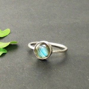 Exotic NATURAL FIRE LABRADORITE Gemstone Ring, Birthstone Ring, 925 Sterling Silver Ring, Fashion Handmade Ring, All Size, Gift Ring