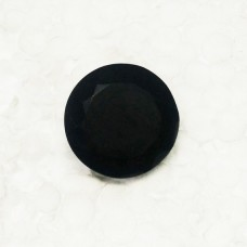 Gorgeous BLACK ONYX Gemstone, AAA Quality Faceted Gemstone, Size 26x26x14 mm Round & 47.80 ct Weight Per Piece, Black Gemstone, Loose Gemstones