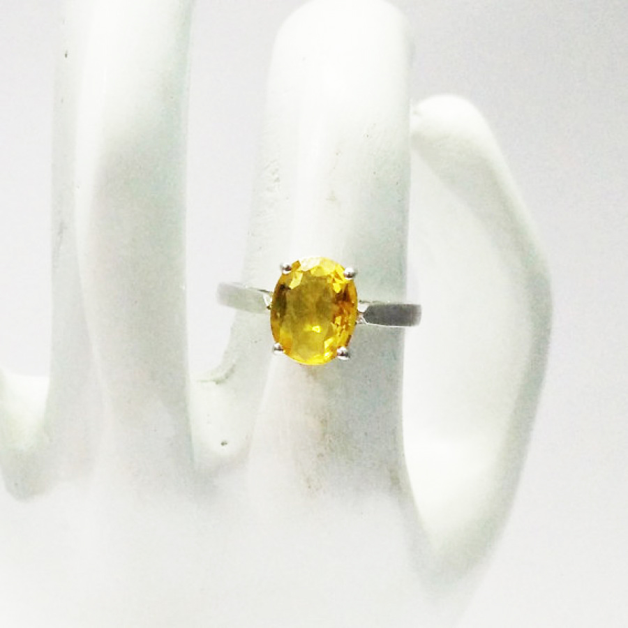 Attractive NATURAL CITRINE Gemstone Ring, Birthstone Ring, 925 Sterling Silver Ring, Fashion Handmade Ring, All Ring Size, Gift Ring